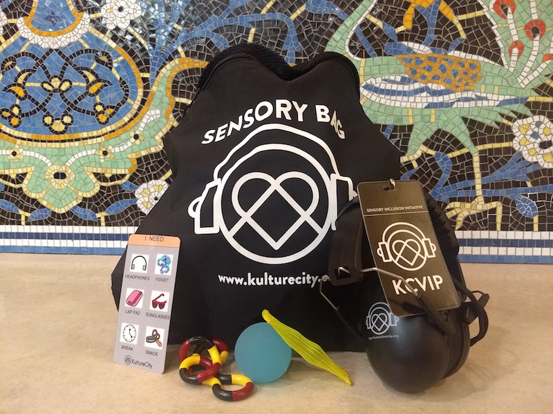 Kulture City bag and items